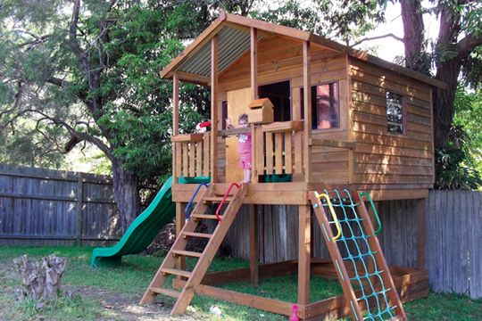 The Mansion Is The Largest Kids Cubby House In Our Range