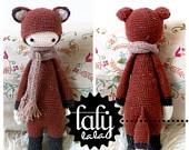 laly lala crochet pattern FIBI fox