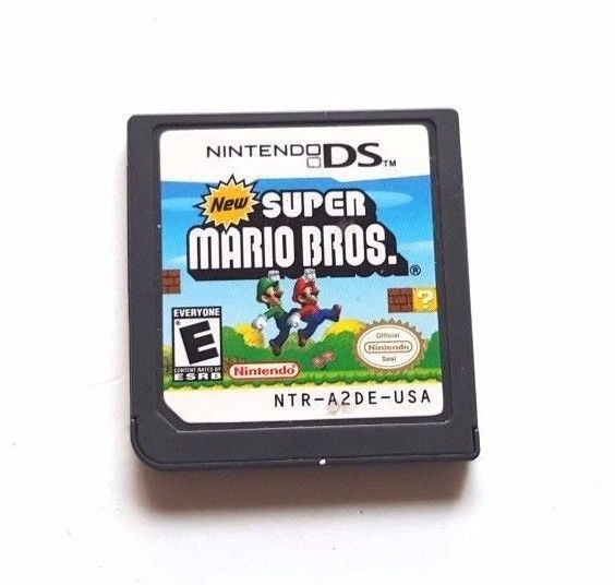 NINTENDO DS DSi Dsl 3DS Game NEW SUPER MARIO BROS. 80 Stages of Fun