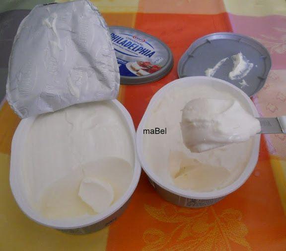 Queso crema tipo Philadelphia casero ~ Pasteles de colores