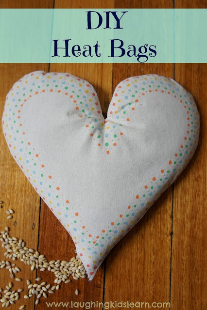 Make personalized heat bag to keep or give as a gift. Step by step instructions make it easy and lots of fun.