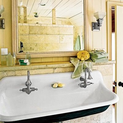 Cast Iron Bathroom Sinks 106 best cast iron sinks images on pinterest | home, kitchen and