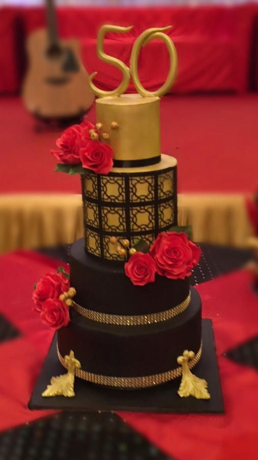 Black And White Cake Pictures