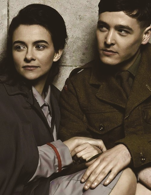 """Sarah Vickers, who plays Joan Thursday, also played Connie in BBC's """"Privates"""""""