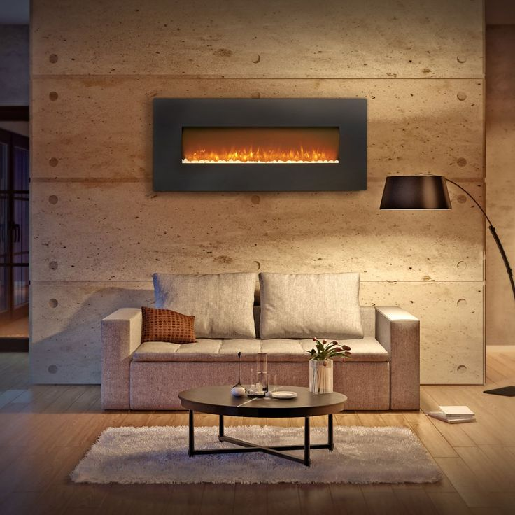 Belham Living North Hampton 50 In Wall Mount Electric Fireplace