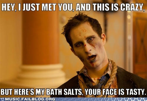 Yup. Zombies. ZOMBIES!!: Giggle, Faces, Bath Salts, Funny Stuff, Bathsalts, Funnies, Things, Zombies