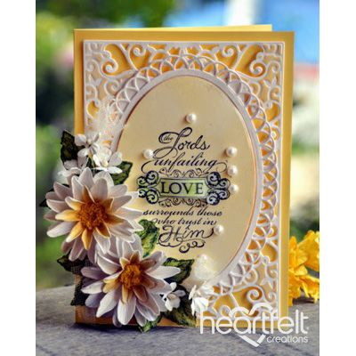 Heartfelt Creations - Prayers And Flowers Project