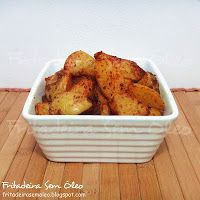 Batatas à moda Indiana na AirFryer - Fritadeira sem Óleo - AirFryer