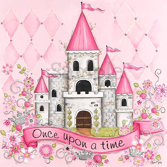 Hey, I found this really awesome Etsy listing at http://www.etsy.com/listing/125510282/princess-castle-childrens-wall-art