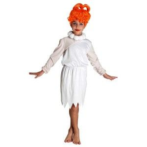 Πρωτόγονη Βίλμα  στολή για κορίτσια με κολιέ