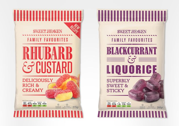 Sweet Heaven Confectionary — The Dieline