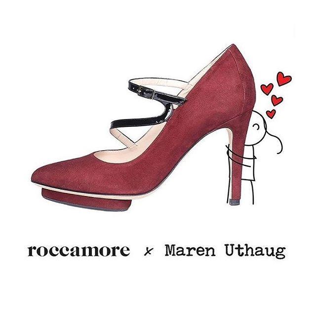 When you find your favourite heels ♥︎ Women shoes   retro heels   comfy heels   comfortable high heels Heels   burgundy   red   work heels   elegant