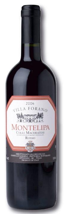 """""""Montelipa"""" Colli Maceratesi Rosso DOC (Sangiovese Lacrima e Vernaccia Nera)"""