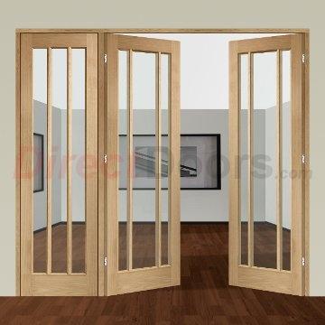 Image of Easi-Frame Oak Door Set, GOWOR-COEOP14L, 2005mm Height, 2194mm Wide.
