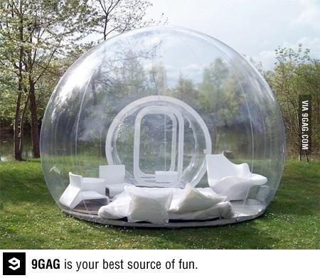 opblaasbare bubbel :O