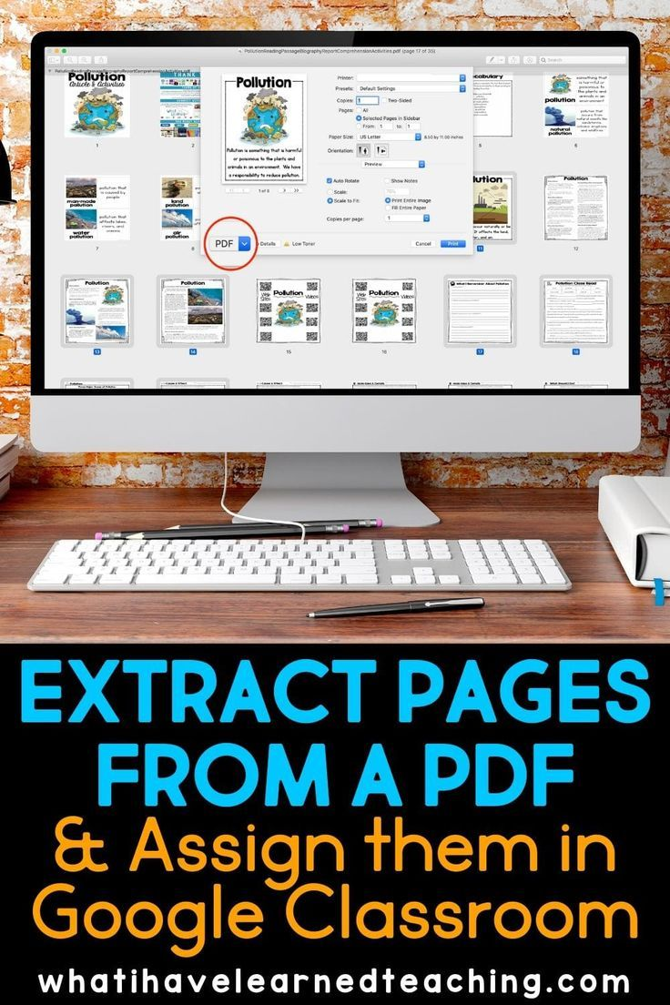 How To Extract Specific Pages From A Pdf And Place Them In Google