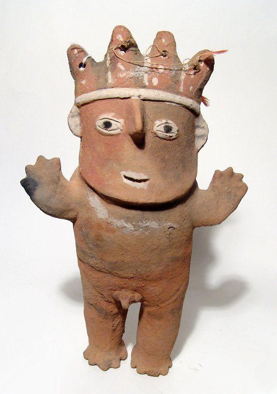 Peru - Chancay terracotta Cuchimilco figure