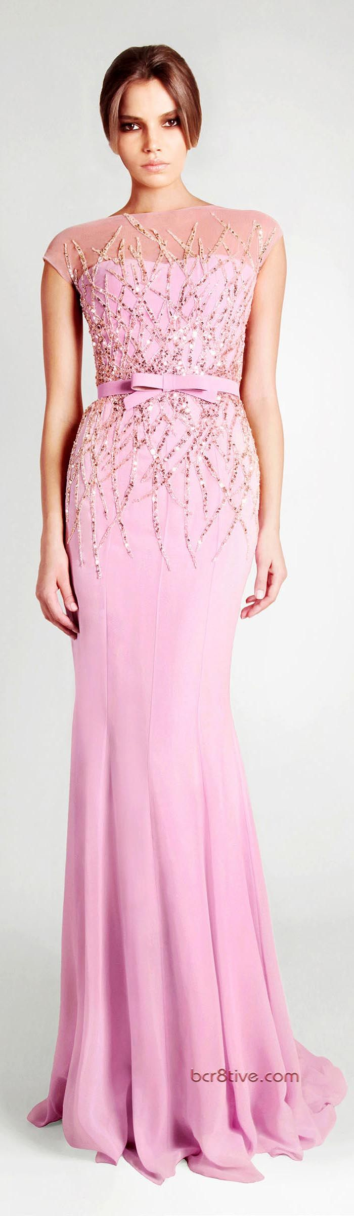 #Georges Hobeika Ready to Wear Signature Spring Summer 2013... this would be beautiful as a bridesmaid dress!