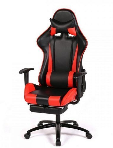 Ergonomic Computer Gaming and Racing Chair by New Gaming - Best Gaming Desk Chairs #ergonomicchairs #computergames
