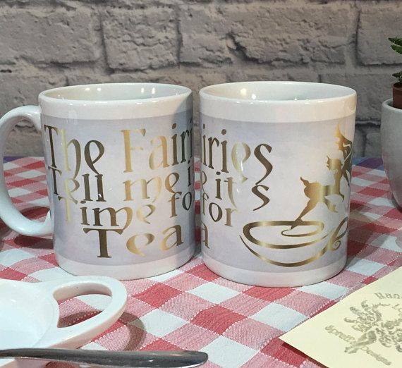 Mug The Fairies Tell me it's Time for Tea