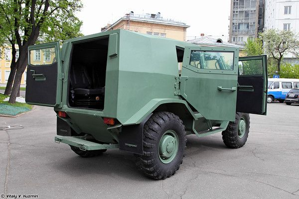 Бронеавтомобиль Торос (Basic variant of Toros armored vehicle)