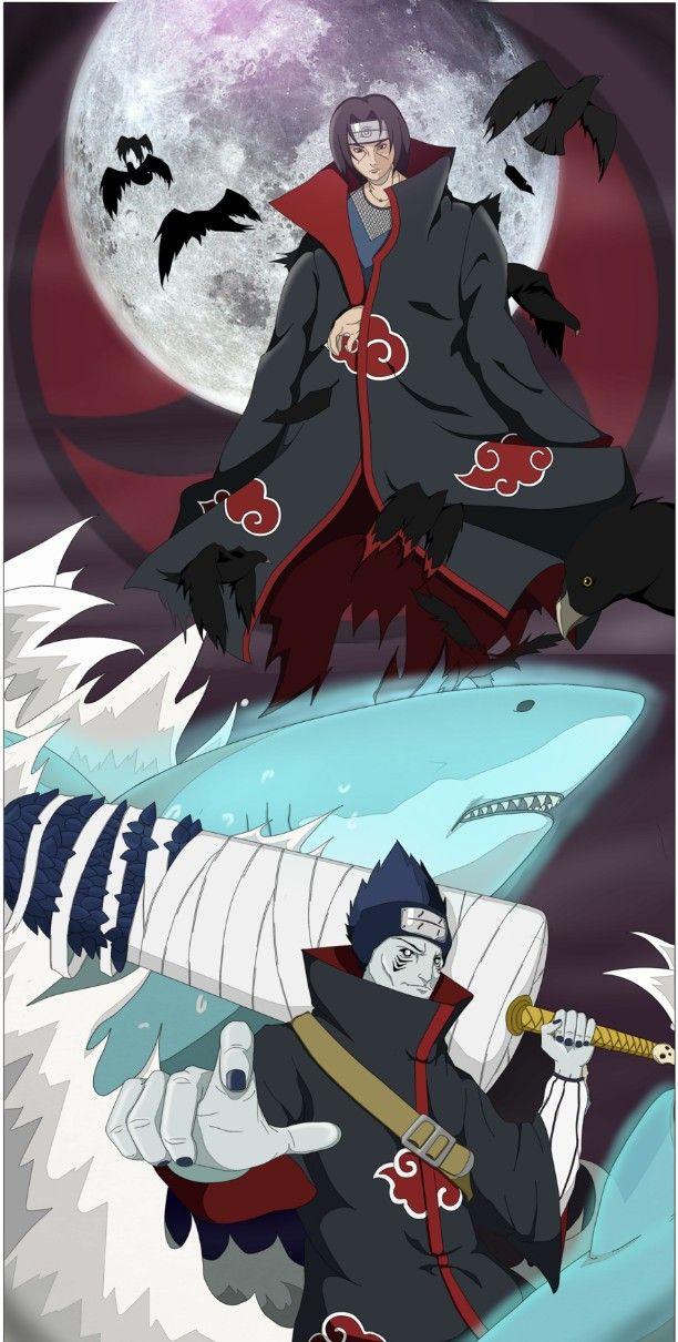 Itachi and Kisame | The Akatsuki | Akatsuki, Naruto, Naruto