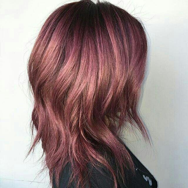 Dusty violet hair color ♡