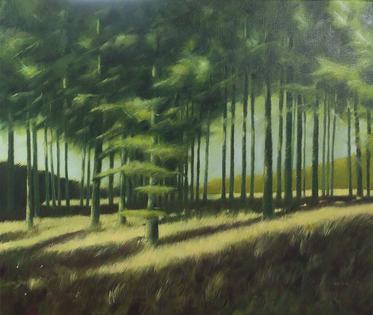 Painting: Rob Donders | Oil on canvas - BERGERBOS