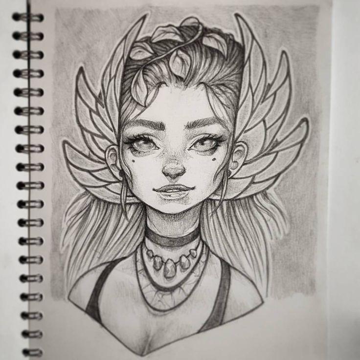 New drawing in my sketchbook  #drawing #illustration #photoshop #sketchbook #instaart #artofinstagram #pencil #pencildrawing