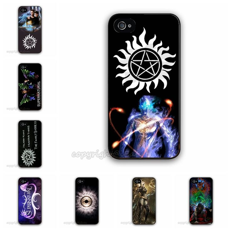 20 Designs Hot TV Show Supernatural Case For Apple iPhone 5 5G 5S Charms Design Mobile Phone Bag Cover 2015 Brand New