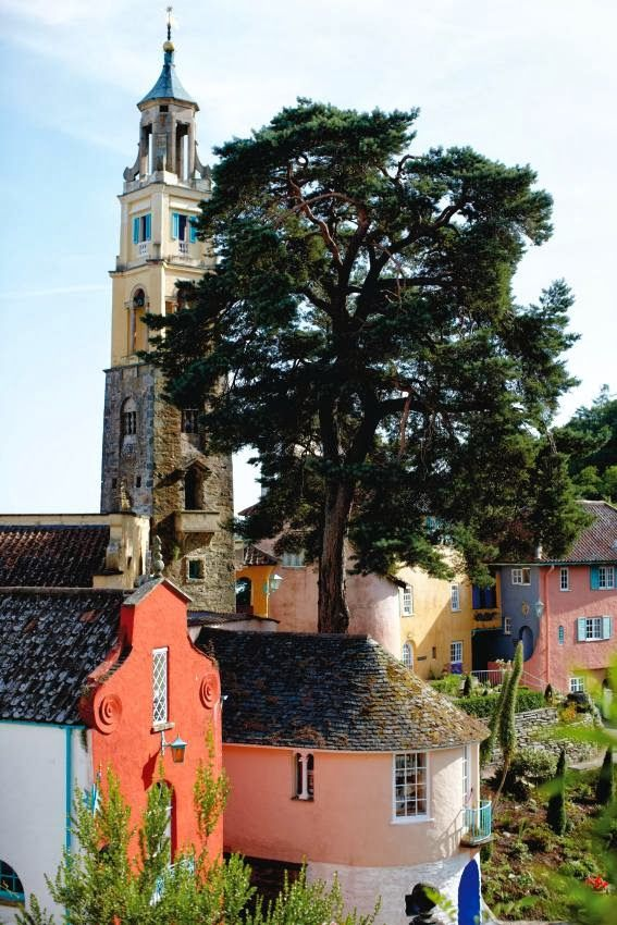 Port Meirion, Wales
