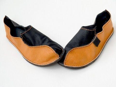 Como hacer Zapatos Mocasines Paso a Paso - enrHedando                                                                                                                                                                                 Más