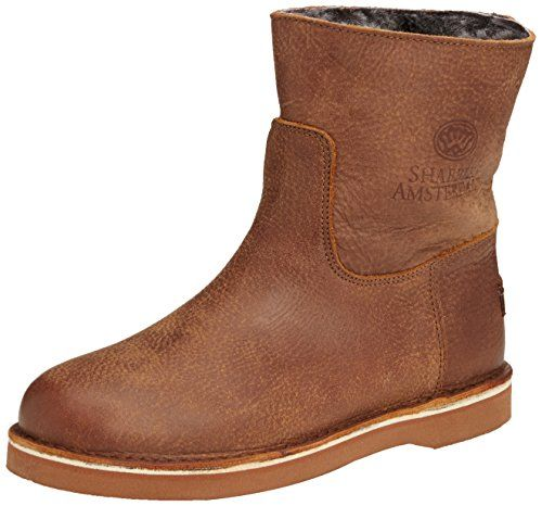 Shabbies Amsterdam Shabbies ladies short boot 16cm with DF55 Merino lammy lining Alissa, Damen Kurzschaft Stiefel, Braun (Africa 407), 41 EU - http://on-line-kaufen.de/shabbies-amsterdam/41-eu-shabbies-amsterdam-shabbies-damen-stiefel-4