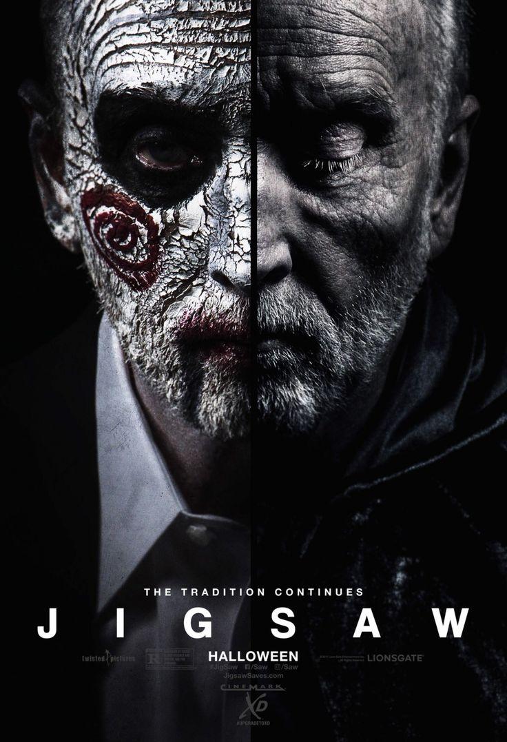 Jigsaw - 2 new posters: https://teaser-trailer.com/movie/saw-8/  #Jigsaw #JigsawMovie #Saw8