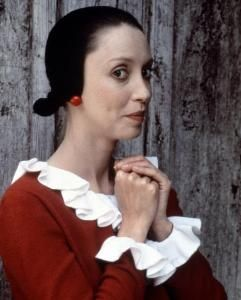 Shelly Duvall as Olive Oyl in the Popeye movie (1980 I can be shy, but mostly I am silly as can be!