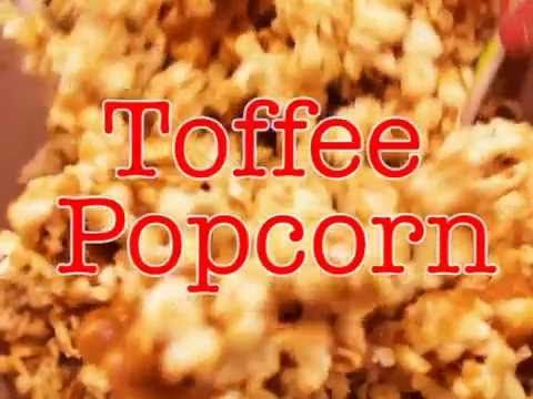 How to Make Toffee Popcorn - Video Instructions (Video) | Old Farmer's Almanac