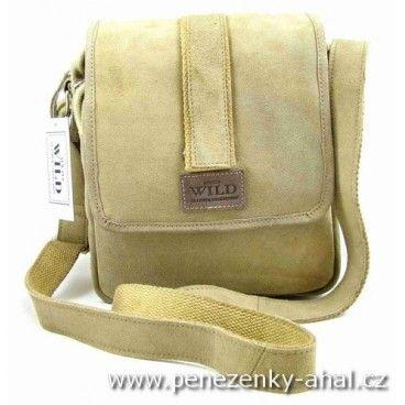 Kožená taška přes rameno z měkoučké kůže značky Always Wild.