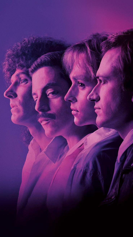Bohemian Rhapsody (2018) Phone Wallpaper Queen movie