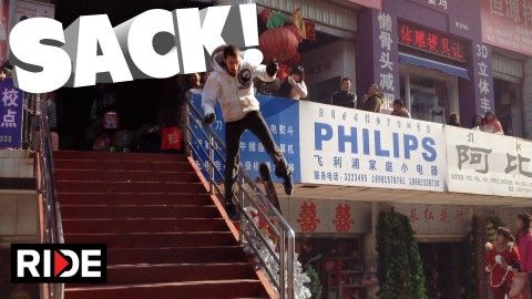 Skateboarding Rail Sack in China - Eric Weiss - http://dailyskatetube.com/skateboarding-rail-sack-in-china-eric-weiss/ - https://www.youtube.com/watch?v=m5YtvTpKxJY&utm_source=dlvr.it&utm_medium=feed Source: https://www.youtube.com/watch?v=m5YtvTpKxJY Check out the worst slams and most brutal bails on RIDE Channel. To submit slams, go to: http://theridechannel.com/submit-videos/slams More at: - china, eric, rail, SACK, skateboarding, weiss