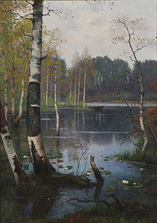 Ellen Favorin (Finnish 1853-1919)