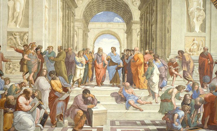 Hapax is a word that only appears once in a work, author's oeuvre, or an entire language's written record. The School of Athens, 1511.