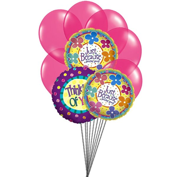Send this beautiful balloons to your Dear Ones and say I am always thinking for you . Send #Balloons Online.