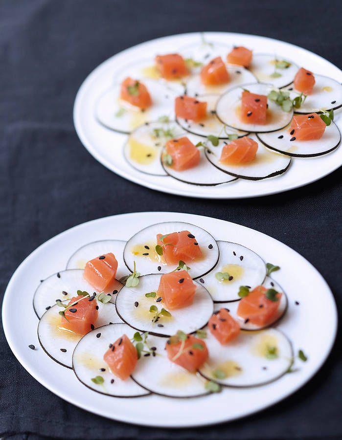 Aliment peu calorique : le radis noir / recette minceur / healthy food
