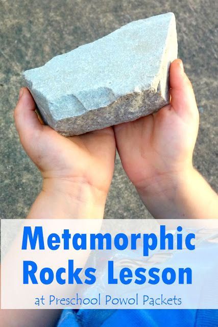 Metamorphic Rocks Lesson | Preschool Powol Packets