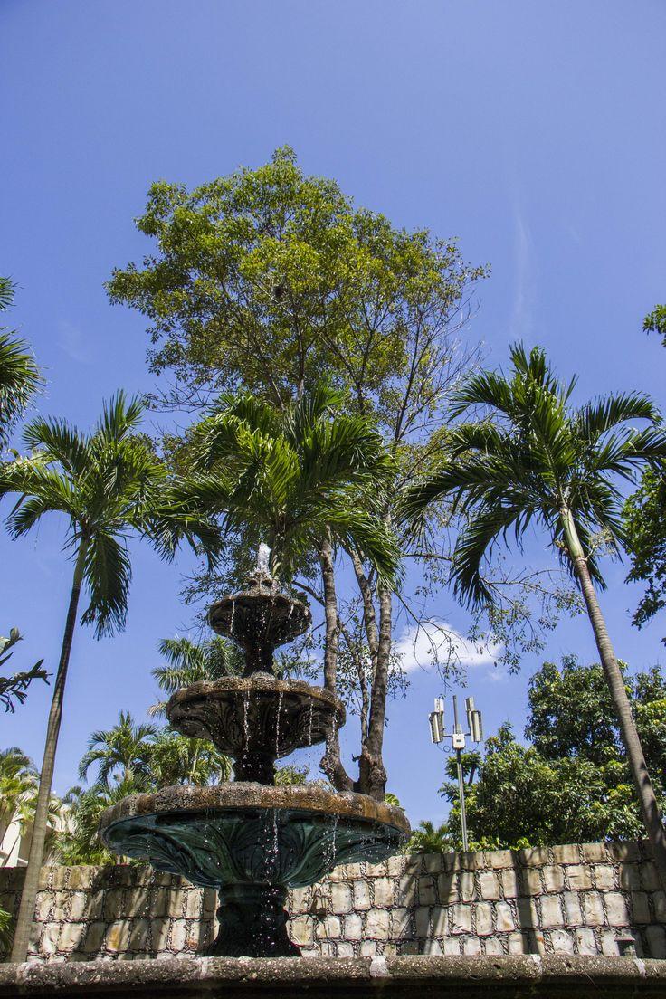 Fuente del Hotel Posada de Tampico