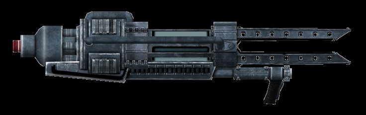 Tesla Cannon from Fallout 3