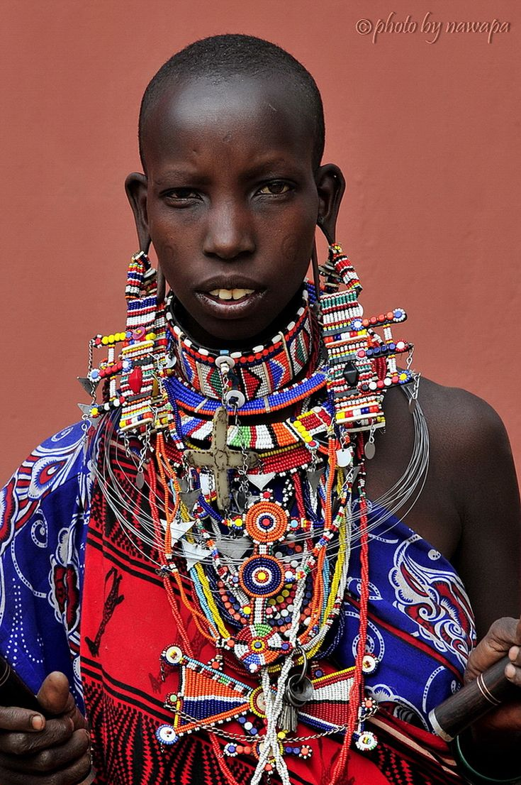 Africa   Teenage Maasai. Amboseli National Park, Kenya   ©Nawapa