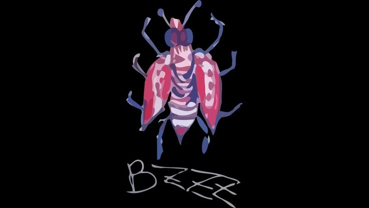 bzzz fly is a T Shirt designed by ElArrogante to illustrate your life and is available at Design By Humans