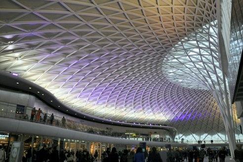 London's train station