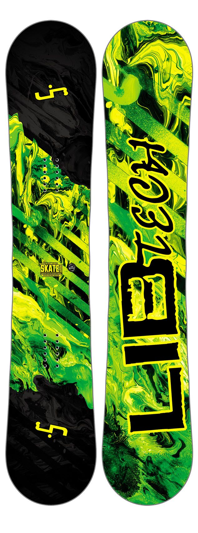 The Wide version of the Lib Tech Skate Banana offers you extra width on the waist allowing for bigger feet feet riders to have the same experience. Fun and easy to ride, whilst still offering high performance the Skate Banana is great everywhere and for everyone, from a keen beginer to a experience older guy! #snowboarding #wide #snowboard